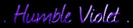 Humble Violet